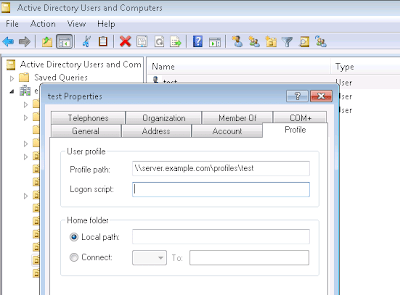 Create Roaming Profiles in Samba4