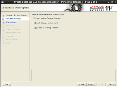 Oracle database 11gR2 installation in RedHat 6.2 (32-bit)