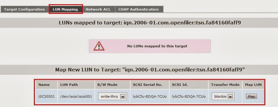 How to configure iSCSI storage using openfiler for Linux and Windows based clients