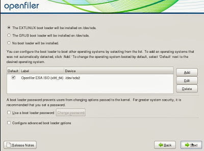 How to install openfiler in CentOS 6.2 Linux