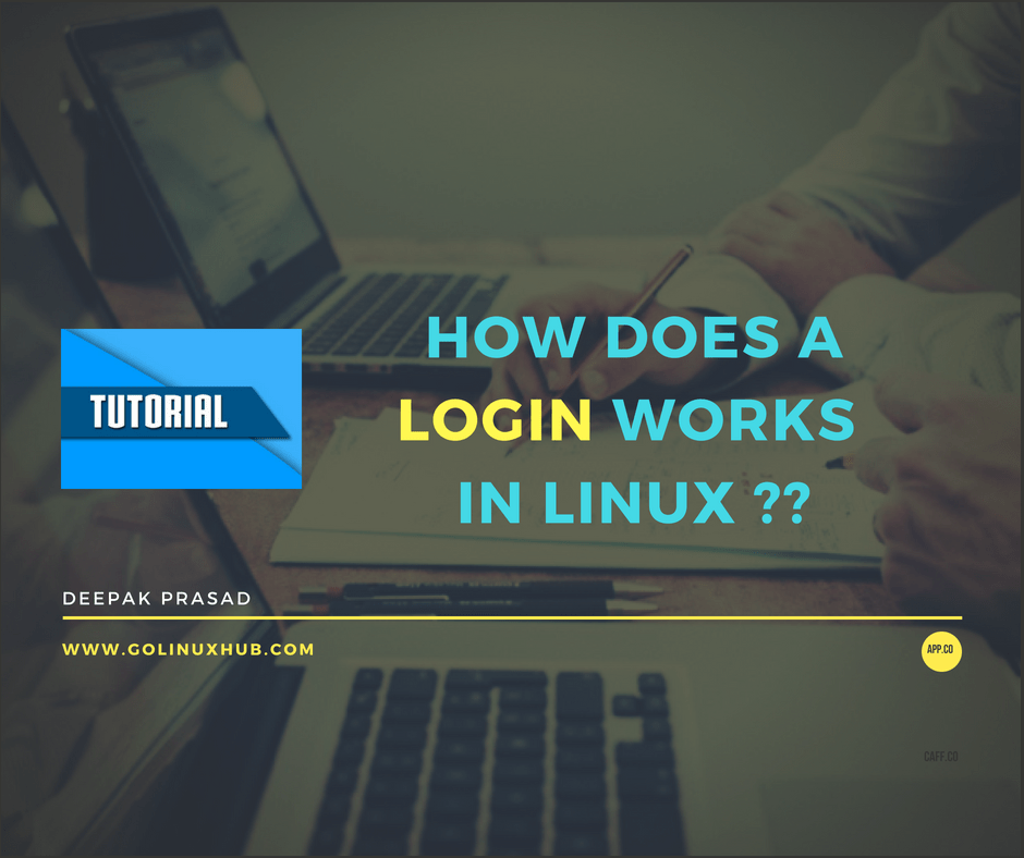 How does a successful or failed login process works in Linux