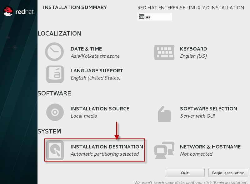 Step by Step Red Hat Linux 7.0 installation (64 bit) with screenshots