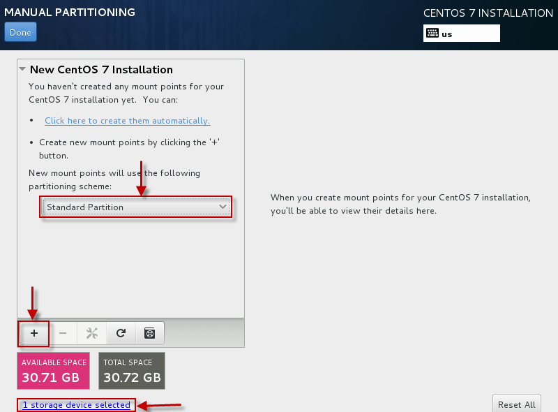 Step by Step CentOS 7 (64 bit) Installation Guide with Screenshots