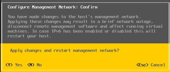 Step by step tutorial guide with screenshots to Install and Configure VMware ESXi 6.5